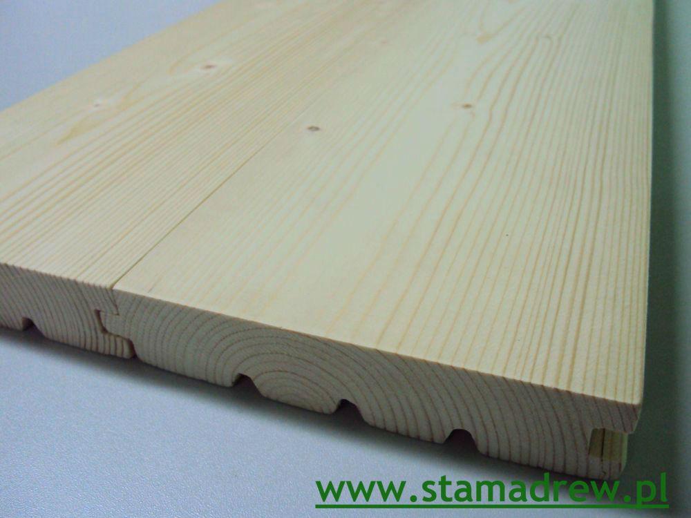 Deska Podłogowa Świerk 28x146mm 1