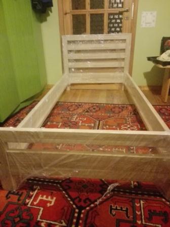 Sprzedam łóżko Dębowe 90 Cm Targ Drzewny Giełda