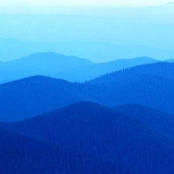 Niebieskie góry