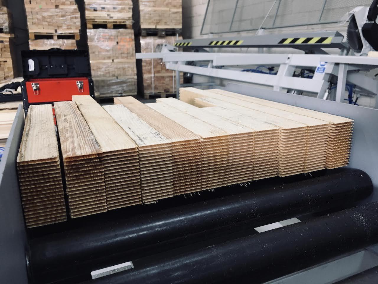 Linia do łączenia drewna na długość GOMA (nie FAMAD, GRECON, DIMTER)