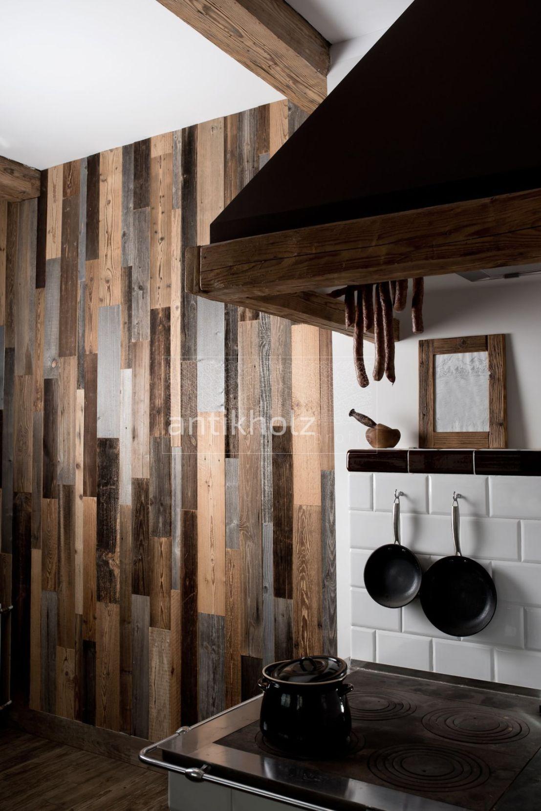 Panele ścienne, stare drewno z efektem 3D, dekoracja ścian, dł. 120 cm