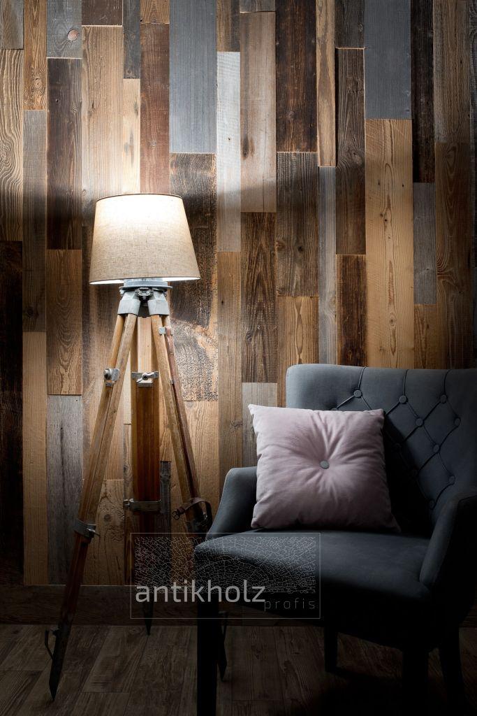 Old timber planks 3D effect Antik Holz-min